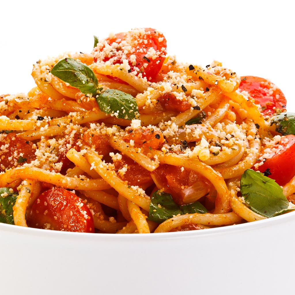 Pasta With Broccoli, Mushrooms, Tomatoes And Parmesan Recipes ...