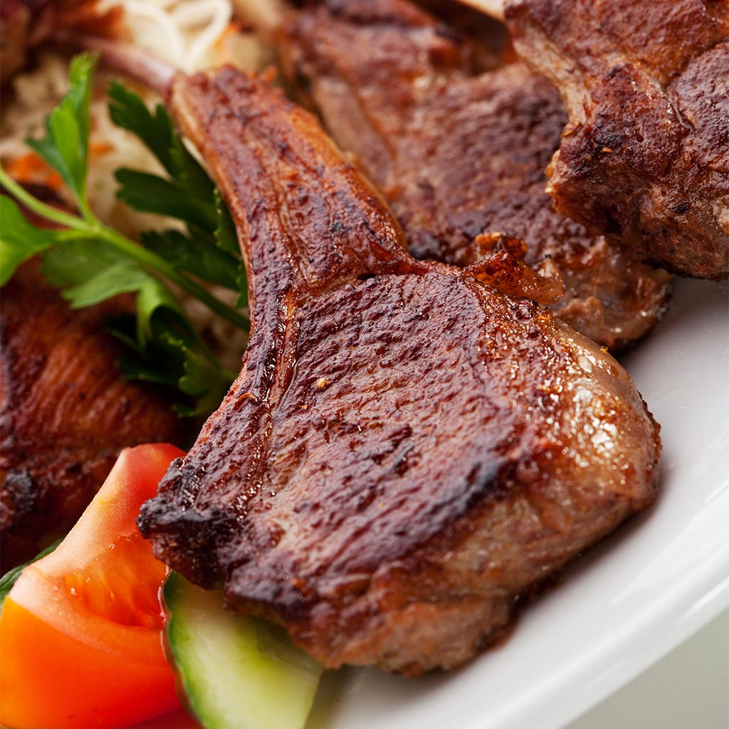 Roast Lamb Chops grilled lamb chops — recipes hubs